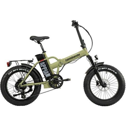 vélo électrique Lombardo Appia Green Army - Boutique AppeBike Ajaccio - Ebike Market