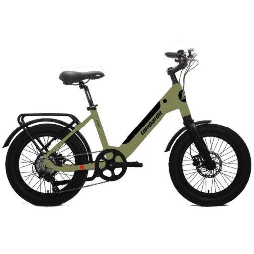 vélo électrique Lombardo Aurelia couleur Green Army - Boutique AppeBike Ajaccio - Ebike Market