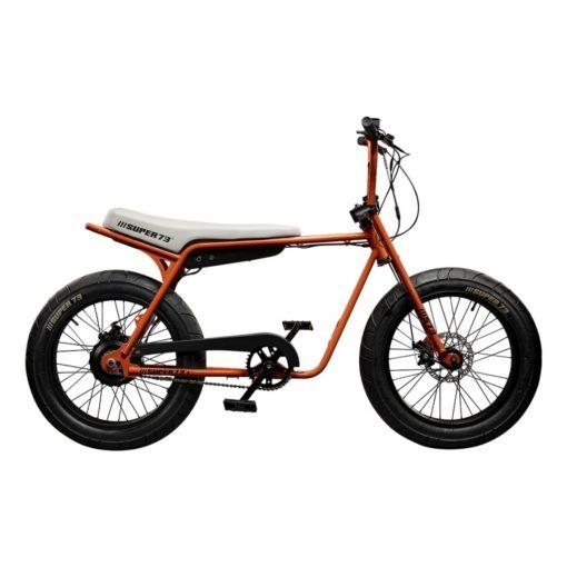 Velo électrique Super 73 - Série Z Orange - vélo californien - boutique atelier appebike ajaccio en Corse - ebike market