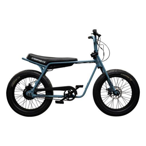 Velo électrique Super 73 - Série Z Bleu Acier - vélo californien - boutique atelier appebike ajaccio en Corse - ebike market