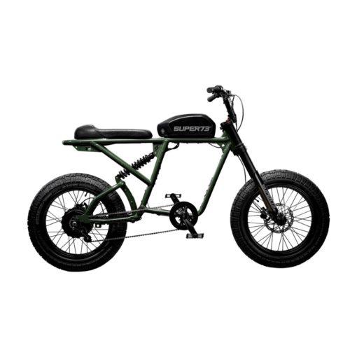 Velo electrique Super 73 - Série RX Olive mat - vélo californien - boutique atelier appebike ajaccio en Corse - ebike market