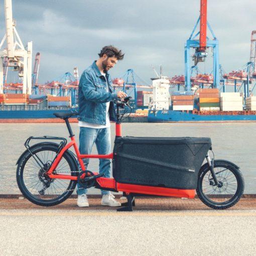 Velo electrique cargo - Riese and Müller Packster 70 - boutique atelier appebike ajaccio en Corse - ebike market 5