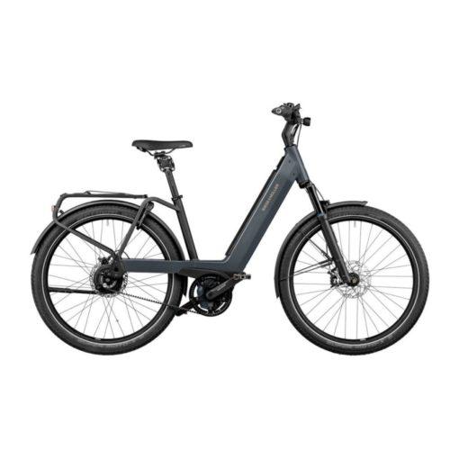 Vélo électrique Riese and Müller Nevo 3 - VTC électrique femme cadre bas - vélo électrique ville femme - boutique appebike ajaccio en Corse - Couleur noir