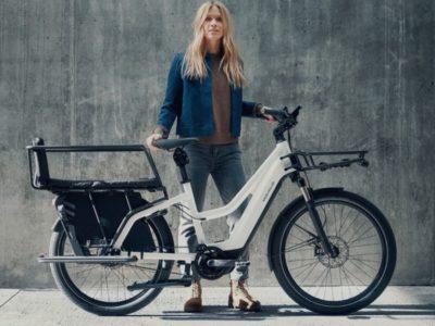 Multi charger mixte Riese and Müller - vélo électrique cargo pour transporter 2 enfants - boutique appebike ajaccio en corse - ebike market