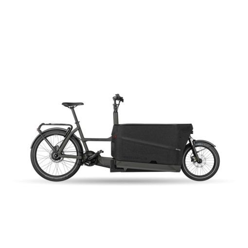 Velo electrique cargo - Riese and Müller Packster 70 Grey Matt - boutique atelier appebike ajaccio en Corse - ebike market