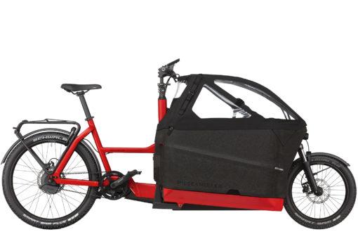 packster 70 Family - velo cargo bike transport 3 enfants - capote impermeable - bosch - boutique appebike ajaccio en corse - ebikemarket - V2