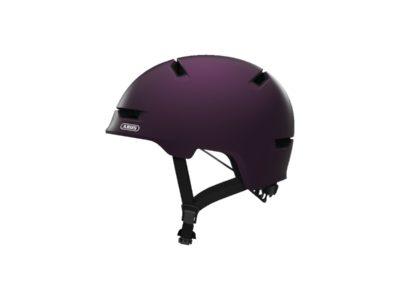 Casque velo urbain velo trotinette skate - abus - scrapper 3.0 - Magenta berry - ebike-market-boutique-velo-electrique-ajaccio-en-corse