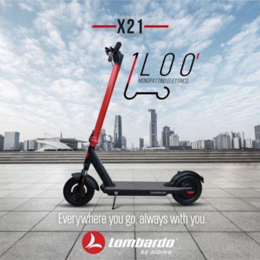 Trottinette électrique Lombardo LOO'X21 - boutique appebike - vélo et trottinette électrique en corse Ajaccio 3