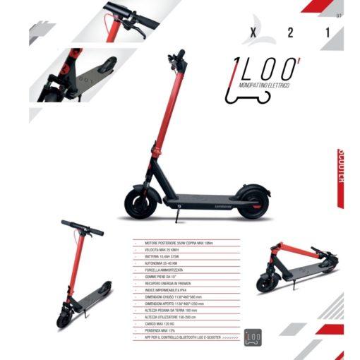 Trottinette électrique Lombardo LOO'X21 - boutique appebike - vélo et trottinette électrique en corse Ajaccio 4